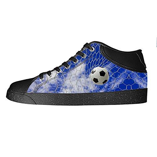 Custom sport calcio Mens Canvas shoes I lacci delle scarpe in Alto sopra le scarpe da ginnastica di scarpe scarpe di Tela. Tienda De Descuento Precio Barato Tienda De Venta Barata De Q40suyh