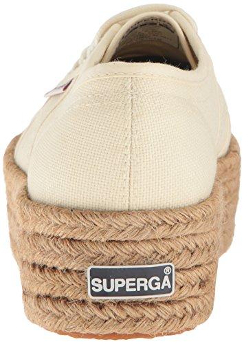 Superga Womens 2790 Cotropew Mote Sneaker Elfenben