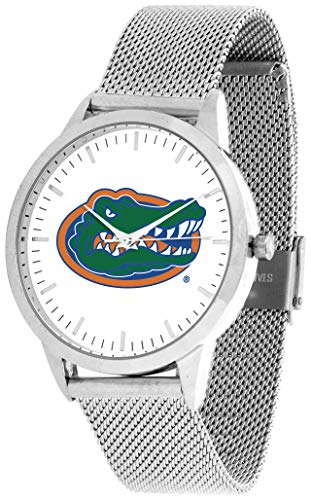 Florida Gators - Mesh Statement Watch - Silver Band