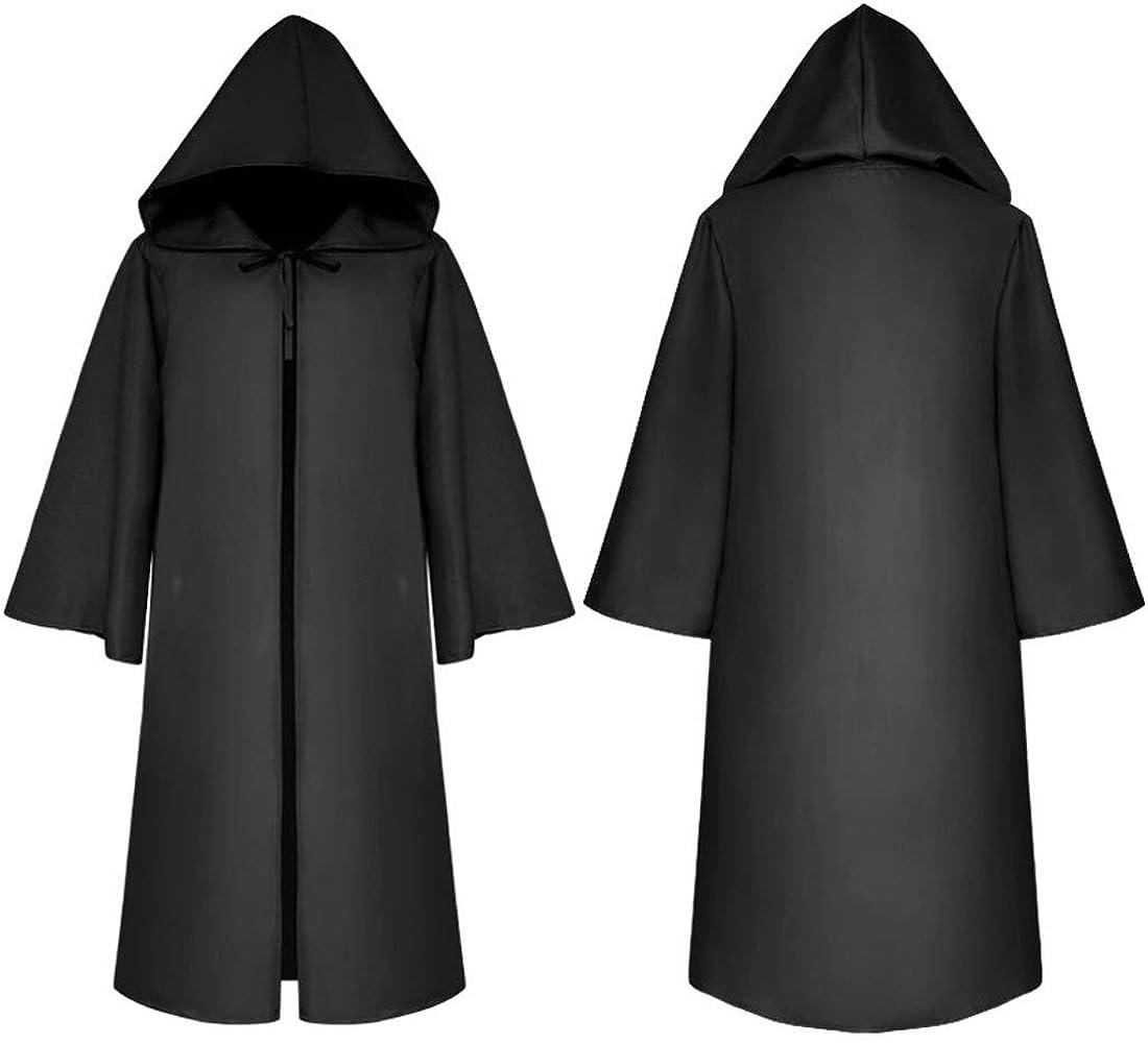 Amazon.com: Túnica con capucha gótica de caballero para ...
