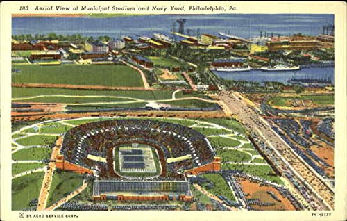 aerial-view-of-municipal-stadium-and-navy-yard-philadelphia-pennsylvania-original-vintage-postcard