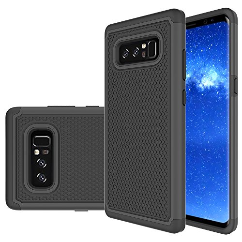 Galaxy Note 8 Case, Skmy Shockproof Impact Hybrid Dual Layer Defender Protective Cover rugged Armor Case for Samsung Galaxy Note 8