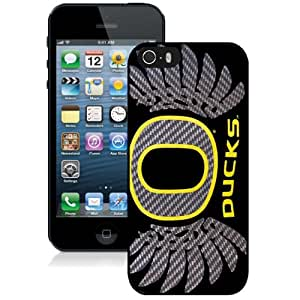 Grace Protective iPhone 5s Case Design with Oregon Ducks Iphone 5 5s Generation Case in Black