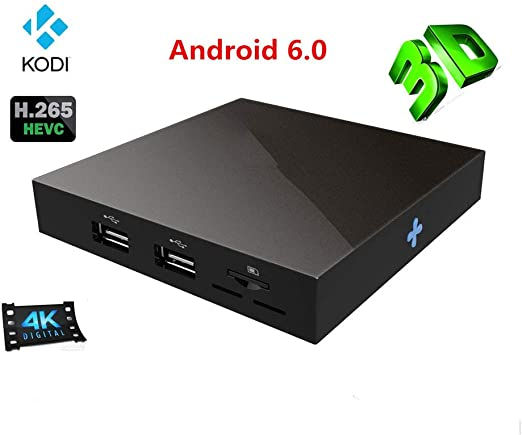 LTLZCY Android 6.0TV Box[1G+8G]con Mini con S905X Quad Core Arm Cortex A53 Wi-Fi-, 4K UHD, Smart TV Box,1+8g,USPlug: Amazon.es: Hogar