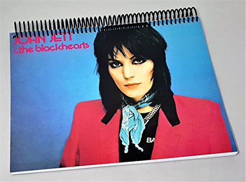 Lesbians Rock - Joan Jett - Joan Jet And The Blackhearts - I Love Rock And Roll - Album Cover Art - Rock And Roll Gifts - 100 Page Notebook - Birthday Gift For Music Lover - Lesbian Gifts