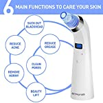 Blackhead Remover, Eitpoton Electric Blackhead Vacuum Suction Removal, Acne Comedone Extractor Tool Set, Skin Facial Pore Cleaner, Comedo Microdermabrasion Exfoliating Machine for Women and Men