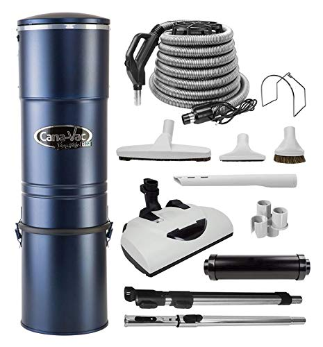 CanaVac LS550 Signature Series Central Vacuum Cleaner- Tangential Bypass Motor Up to 5000 sq ft.- with The LS Performance Package