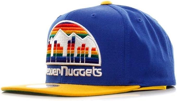 Gorra XL Logo 2 Tone Denver Nuggets de Mitchell & Ness - Azul ...