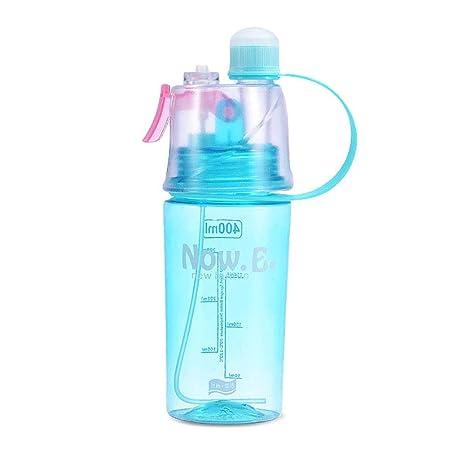 Plastic Leakproof Water Bottle Portable Transparent Anti-fall Drinking Bottle