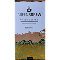 Greenbrrew Instant Green Coffee for Weight Management - 20 Sachets