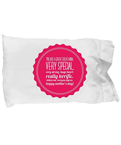 Amazon.com: Gift for Mom Pillowcase almohada personalizada ...