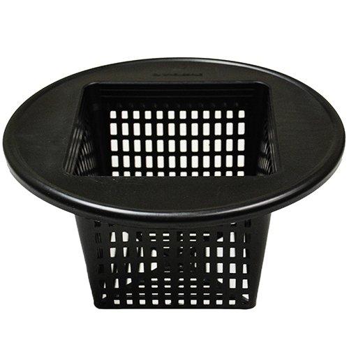 (25) 6'' Square Wide Lip Bucket Basket Lids + (25) 6''x6''x6'' Rockwool Blocks