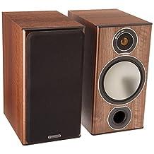 Monitor Audio Bronze 2 Bookshelf Speakers - Walnut (Pair)
