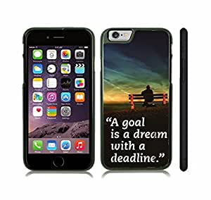 iStar Cases? iPhone 6 Plus Case with Zebra Print with Bold Hot Pink Stipes , Snap-on Cover, Hard Carrying Case (White)