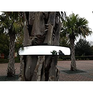 "16.5"" Extra Wide Panoramic Rear View Mirror for Golf Carts As Ez Go, Club Car, Yamaha"