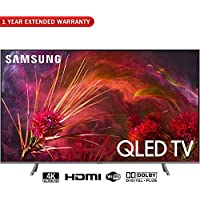 Samsung QN82Q8FNB 82 Q8FN QLED Smart 4K UHD TV (2018 Model) + 1 Year Extended Warranty