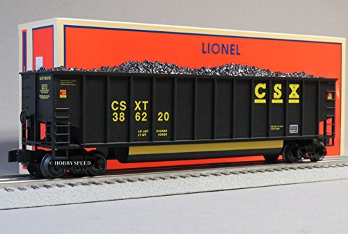 Bathtub Coal Gondola - LIONEL CSX ROTARY BATHTUB GONDOLA 386220 o gauge train freight 6-19381