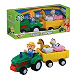 Navystar Musical Farm Tractor Play Set