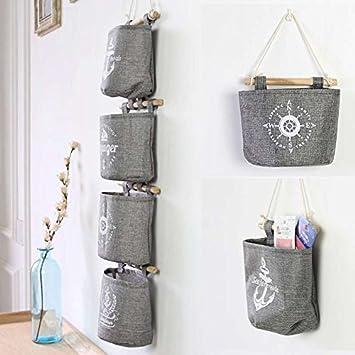 Superb NPLE  Unique Storage Bag Wall Hanging String Organizer Bra Socks Cosmetics  Hanger Bag