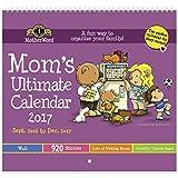 MotherWord DDTB11-2817 Mom Ultimate 16-Month Wall Calendar, September 2016-December 2017, English, 12x12-Inch