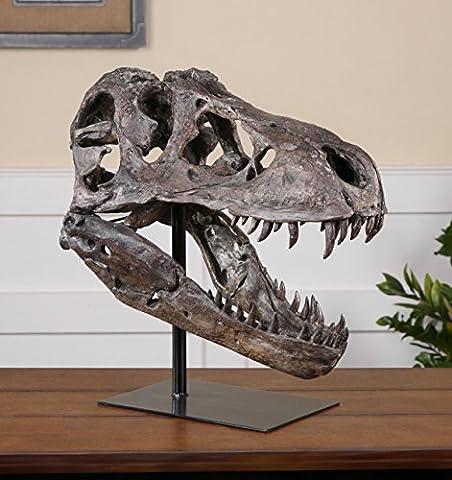Tyrannosaurus Rex Head Sculpture | Dinosaur D?cor - Dinosaur Head
