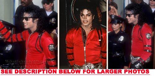 Michael Jackson Dangerous Era Off Stage 3 Rare Fine Art Photos