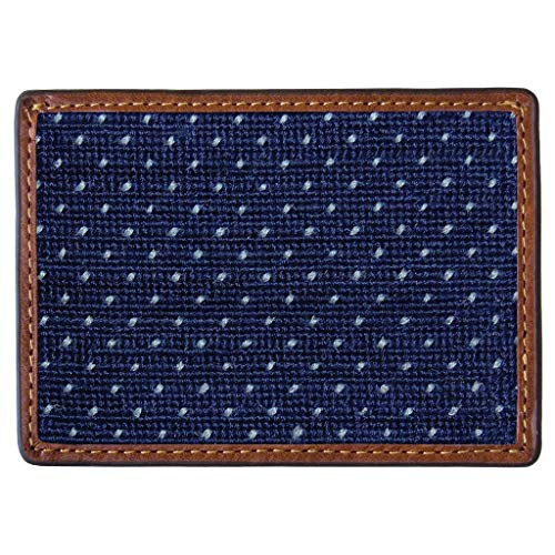 Micro Dots Needlepoint Credit Card Wallet by Smathers & Branson