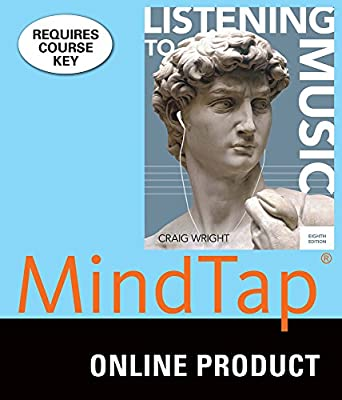 MindTap Music for Wright's Listening to Music, 8th Edition