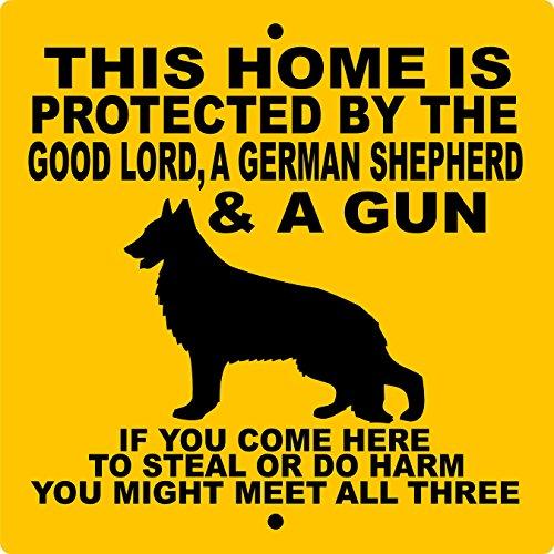 Top 10 Best Dog Signs German Shepherd
