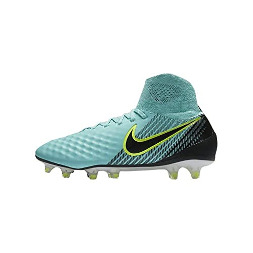 1894eae9d55c Amazon.com | Nike Womens Magista Orden II FG - (Light Aqua/Black-Igloo  White) (11) | Soccer