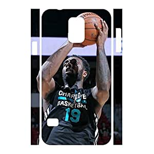 Deluxe Basketball Athlete Ptint Dustproof Phone Cover Skin for Samsung Galaxy S5 I9600 Case
