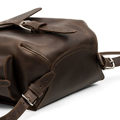 Saddleback Leather Simple Backpack – Best Backpack for School, Business Travel by Saddleback Leather Co. (Image #4)
