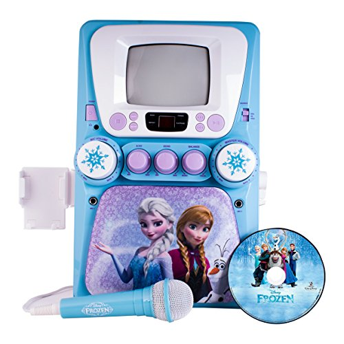 Frozen Disney CD+G karaoke with Screen