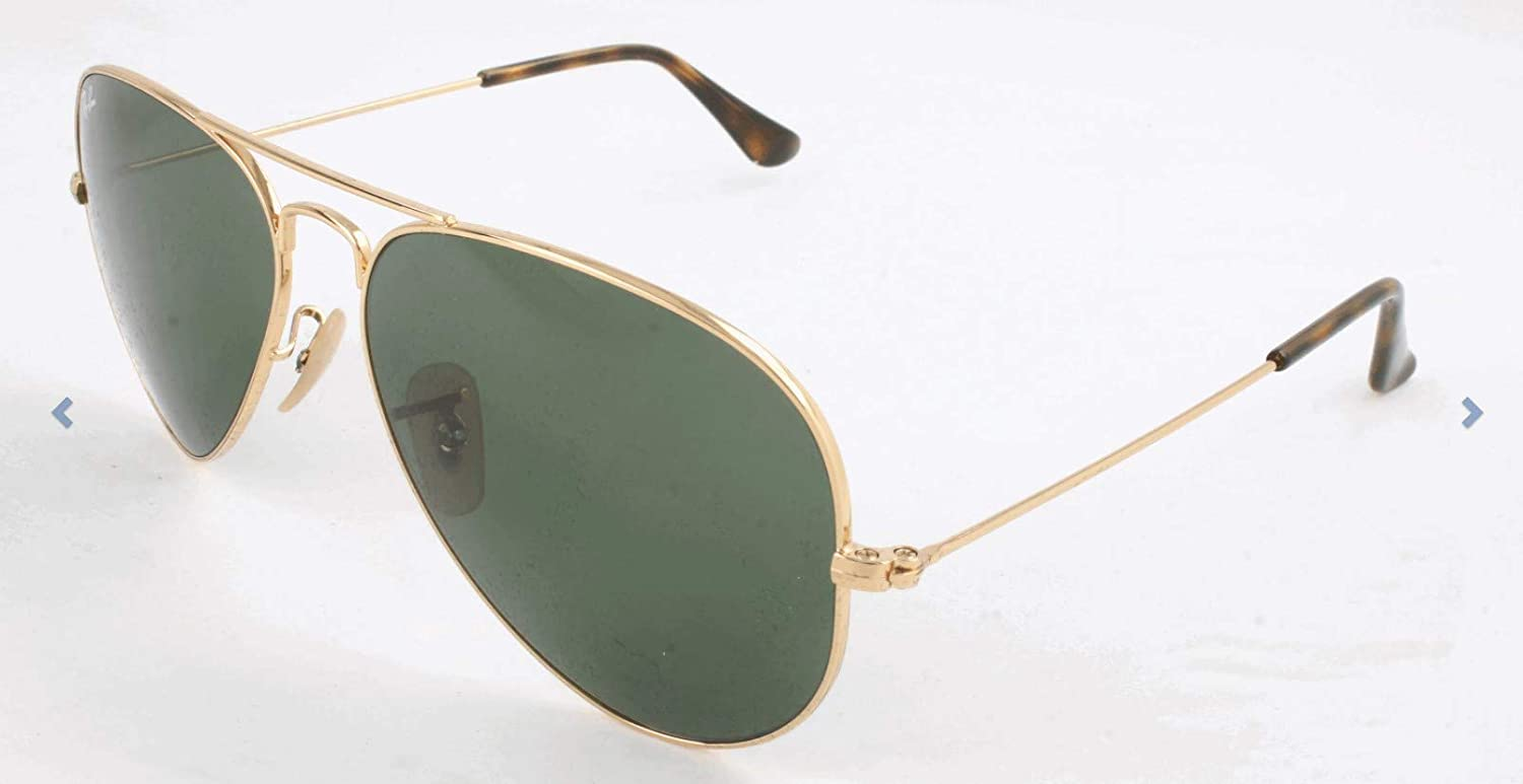fc0698972c0511 Ray-Ban Aviator Large Metal Occhiali da Sole Uomo: Ray Ban: Amazon.it:  Abbigliamento