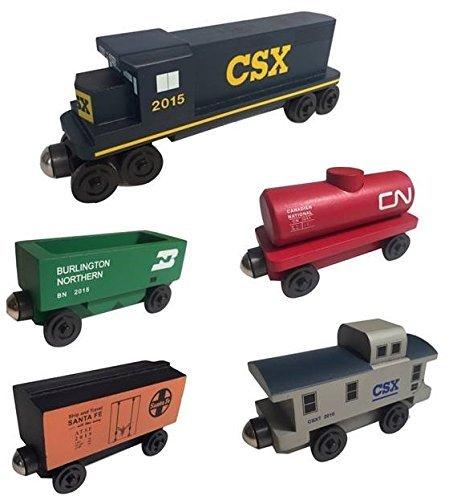 Whittle Caboose - Whittle Shortline Railroad - Manufacturer CSX Railway GP-38 Diesel 5pc. Set