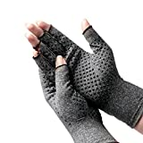 Genmine Arthritis Gloves Compression Gloves for Rheumatoid Cotton & Spandex Arthritis Rehabilitation Bumps Training Nursing Grip Gloves Keep Hands Warm & Pain Relief For Men & Women (Large)