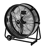 Lakewood 24-Inch Industrial Grade Drum Fan, LUF2402A-BM