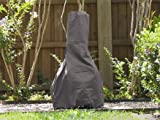 Chiminea Cover Elite 24''Dia X 40''H Color: Charcoal FCP739.CH2
