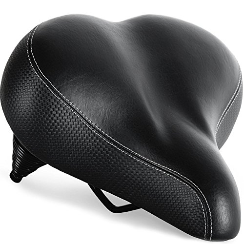 Most Comfortable Bike Seat For Seniors Extra Wide And Padded Bicycle Saddle For Men And Women Comfort Universal Bike Seat Replacement