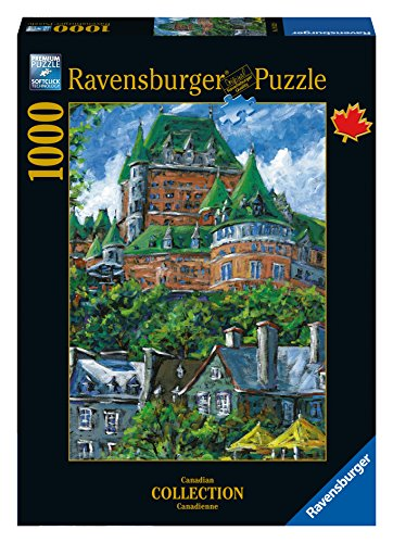 Ravensburger Chateau Frontenac, Quebec Canadian Collection Canadienne 1000 Piece Jigsaw Puzzle for Adults - Every piece is unique, Softclick technology Means Pieces Fit Together Perfectly ()