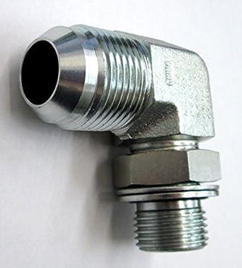 AF C5506-10-12-5//8 Male JIC x 3//4 Female JIC 90° Swivel Nut Elbow