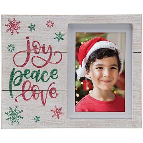 Fine Photo Gifts Joy Peace Love Winter Christmas Picture ()