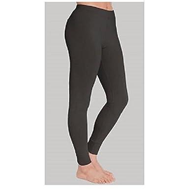 legging thermique chaud pantalon collant panty noir polaire hiver ski L XL  femme 92b456d9013