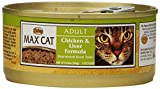 NUTRO MAX CAT Adult Chicken and Liver Formula Canned Cat Food (Pack of 24)