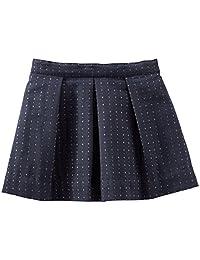 OshKosh B'Gosh Little Girls' Sparkle Woven Skirt (Toddler/Kid) - Blue - 5T