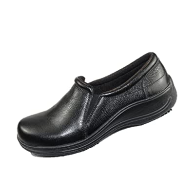 Laforst Joana 7018 Womens Work Slip Resistant Slip On Clogs: Shoes