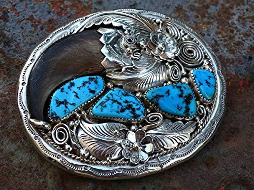 big silver belt buckle, turquoise bear claw belt buckle silver, mens belt buckle turquoise silver, Native American cuff bracelet, Native American jewelry