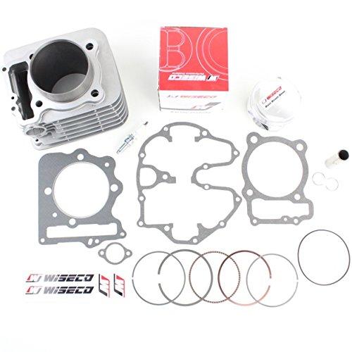 NICHE Cylinder 10:1 Wiseco Piston Kit for Honda Sportrax TRX400EX ()