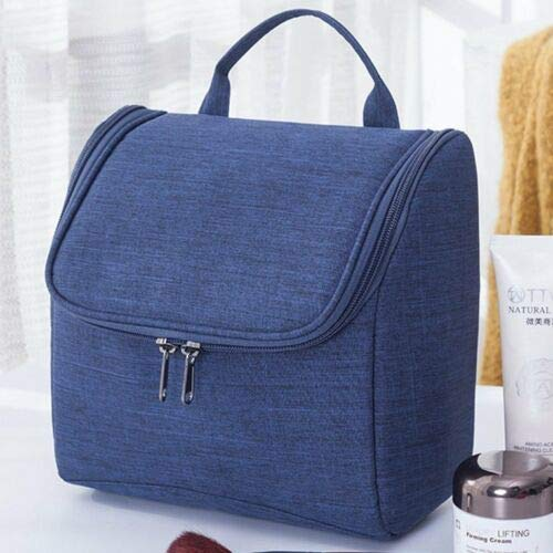 Portable Travel Makeup Cosmetic Bag Multifunction Pouch Toiletry Organizer AS (Select - Dark Blue) ()