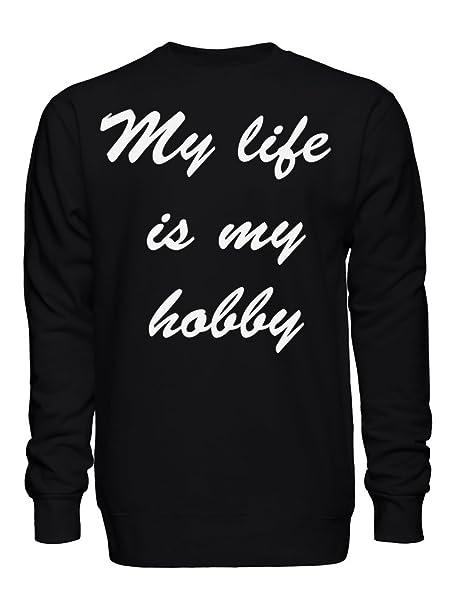 graphke My Life Is My Hobby Sudadera Unisex XX-Large: Amazon.es: Ropa y accesorios